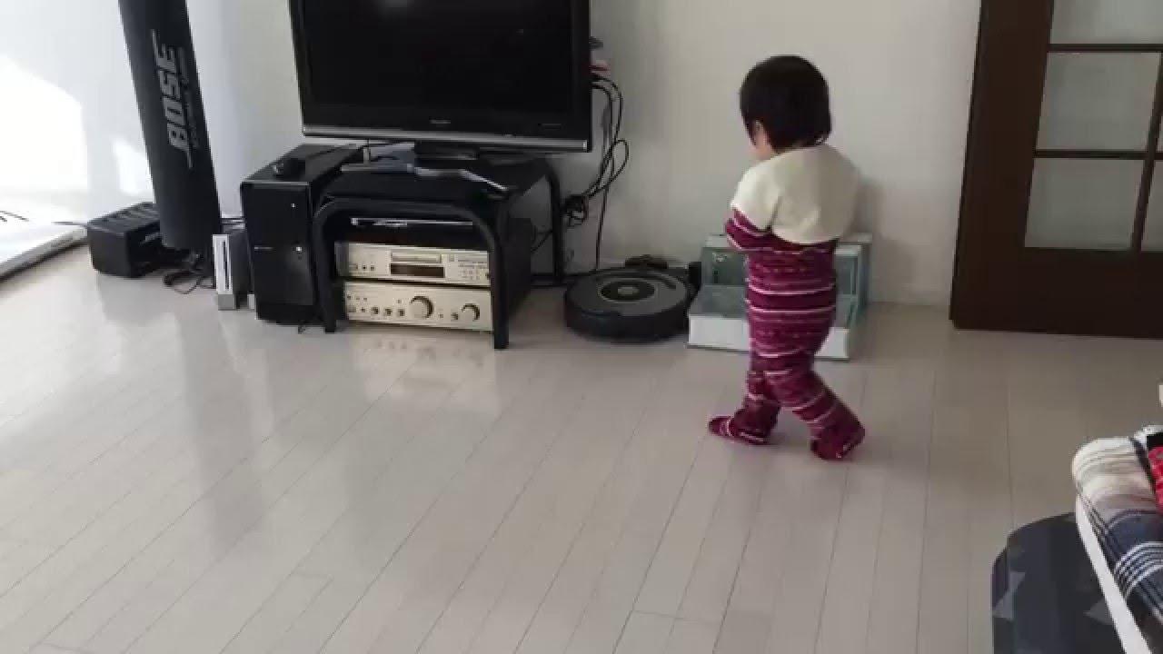 ルンバ iRobot Roomba VS. 1歳児