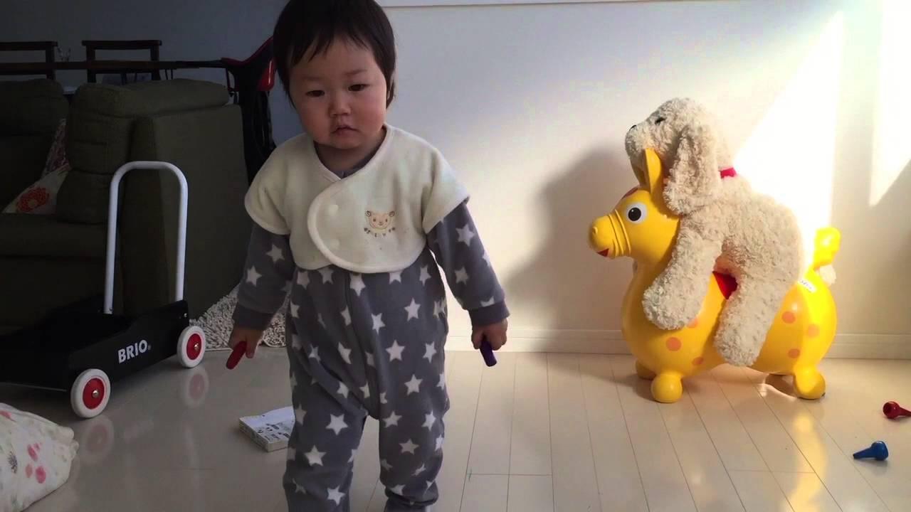 朝のお仕事と1歳児