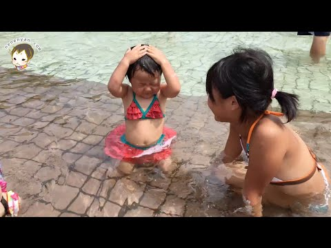 ふなばしアンデルセン公園 水遊び 2歳児