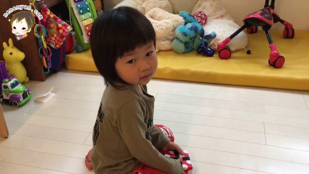 ビー玉の紹介 3歳2ヶ月