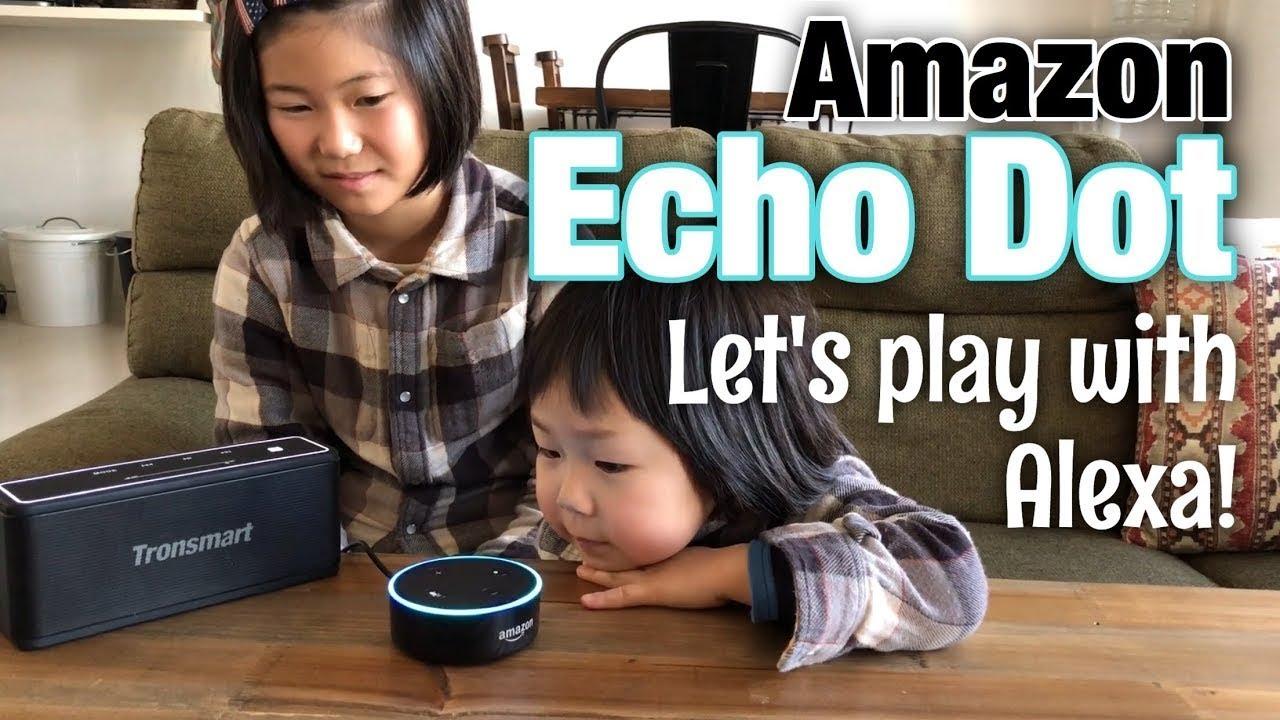 Amazon Echo Dot アレクサが来たよ!