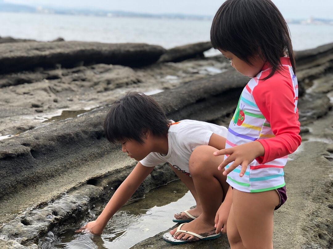 沖ノ島海水浴場 -夏休み 南房総 1泊旅行
