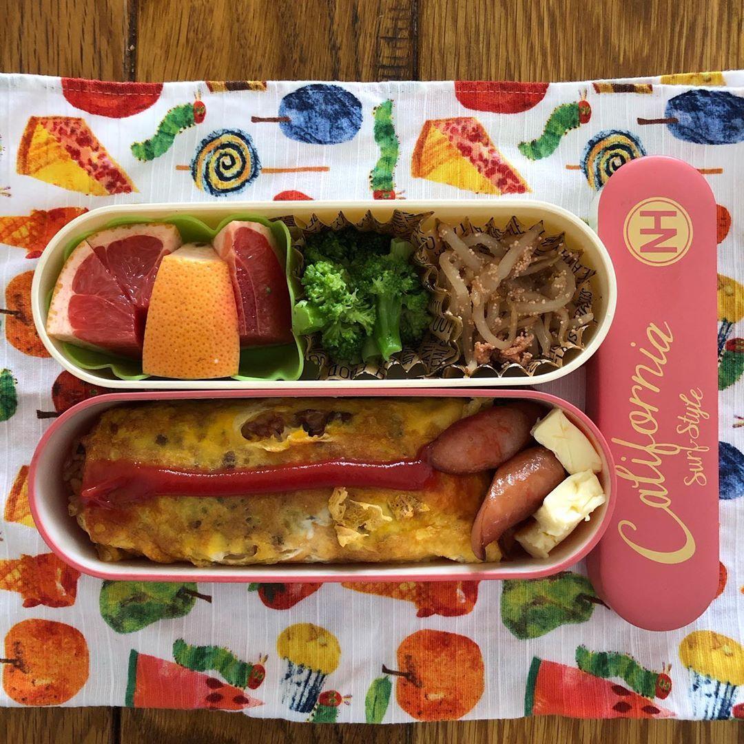 今日のねねにゃんの 幼稚園弁当
