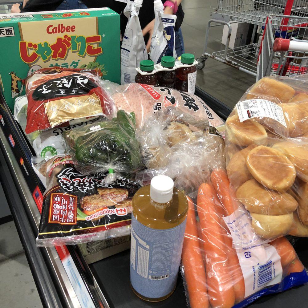 コストコ 定番の購入品とスーパー銭湯