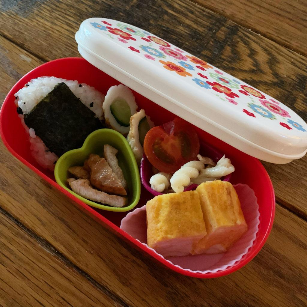 今週のねねにゃんの幼稚園弁当
