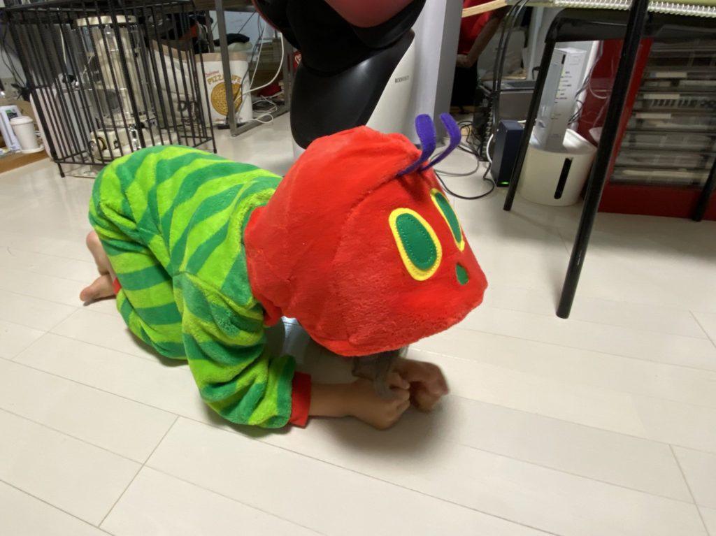 幼児の日常 子育てブログ | はらぺこあおむしパジャマ