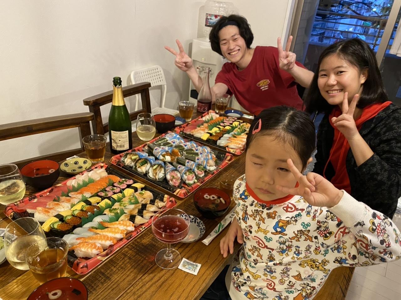 こどもの日は、お寿司いっぱい!